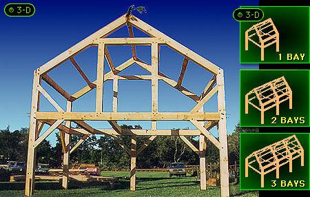Timber Frame Houses - Single Bay Timber Frames